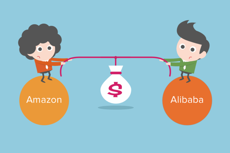 Les différences Amazon vs Alibaba - Interview de Bertrand Jouvenot
