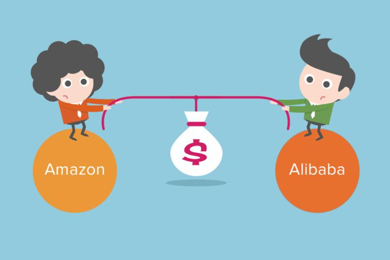 Les différences Amazon vs Alibaba - Interview de Bertrand Jouvenot
